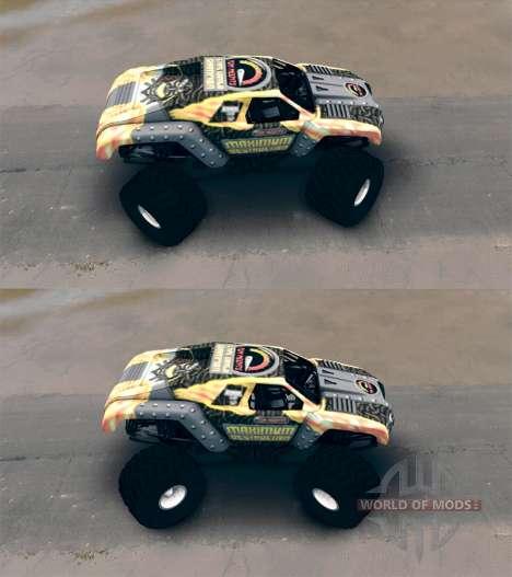 Maximum Destruction for Spin Tires