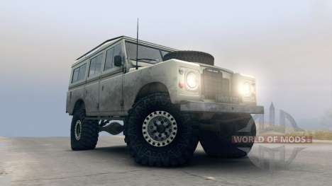Land Rover Defender Cream for Spin Tires