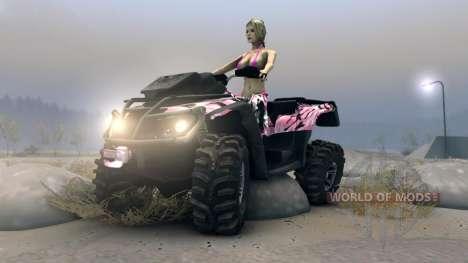 ATV Outlander v2 for Spin Tires