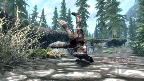 Mace throw for the third Skyrim screenshot