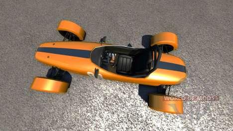 DSC Bora 2014 Orange for BeamNG Drive