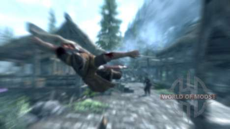 Mace throw for Skyrim