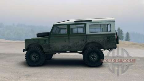 Land Rover Defender Green for Spin Tires