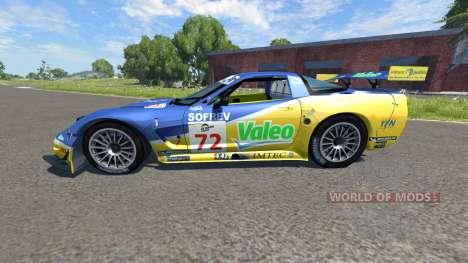 Chevrolet Corvette C5-R Valeo LeMans for BeamNG Drive