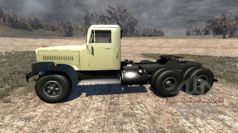 KrAZ-258 for BeamNG Drive