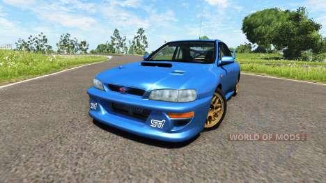 Subaru Impreza 22B 1998 for BeamNG Drive