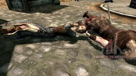 Bow paralysis for the third Skyrim screenshot