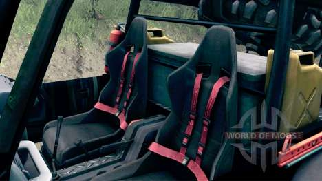 Jeep Wrangler SID for Spin Tires
