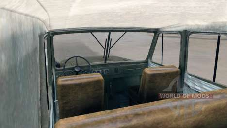 The UAZ-469 for Spin Tires