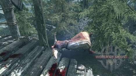 Mace throw for the fourth Skyrim screenshot