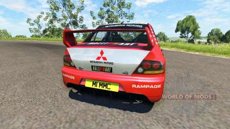 Mitsubishi Lancer Evolution IX 2006 for BeamNG Drive