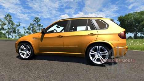 BMW X5M Orange for BeamNG Drive