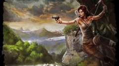 Clothing and weapons of Lara Croft