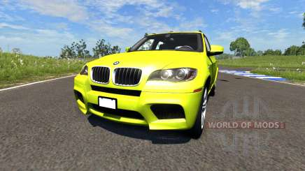 BMW X5M Yellow for BeamNG Drive