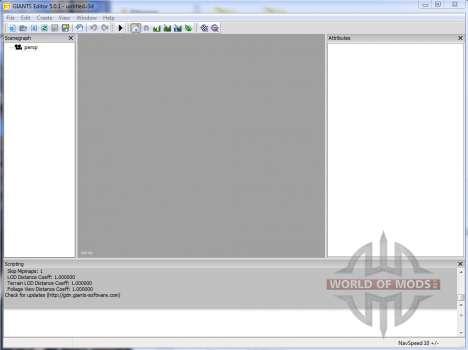 GIANTS Editor v5.0.1 for Farming Simulator 2013