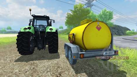 Fuel Adjust for Farming Simulator 2013