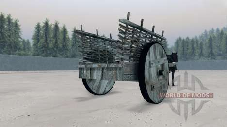 Cart for Spin Tires