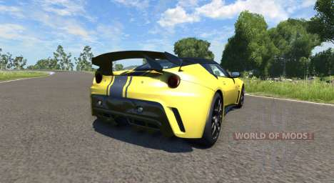 Lotus Evora GTE 2011 [Yellow] for BeamNG Drive