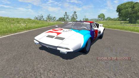 De Tomaso Pantera 1972 for BeamNG Drive