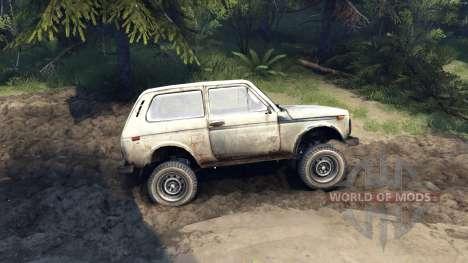 VAZ-2121 Niva for Spin Tires