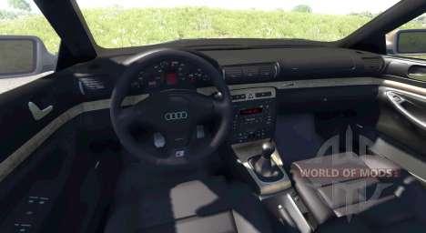 Audi S4 2000 [Pantone 876 C] for BeamNG Drive