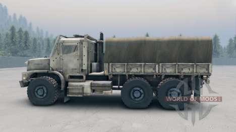 Oshkosh MTVR MK23 wheels v1 for Spin Tires
