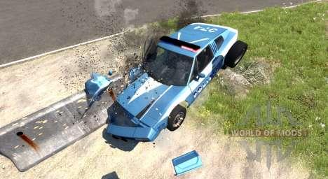 Civetta Bolide Police Interceptor for BeamNG Drive