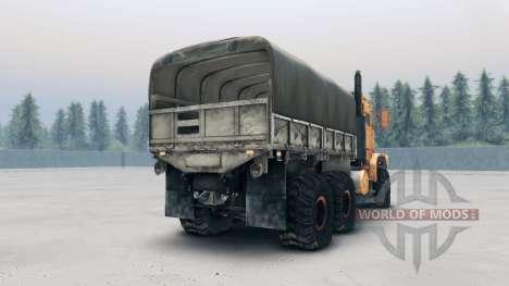 Oshkosh MTVR MK23 wheels v2 for Spin Tires