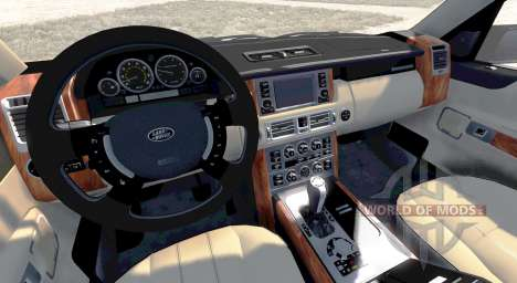 Range Rover Supercharged 2008 [White] for BeamNG Drive