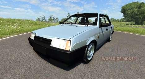 VAZ-21099 v2.0 for BeamNG Drive