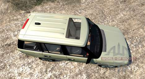 Range Rover Supercharged 2008 [Beige] for BeamNG Drive