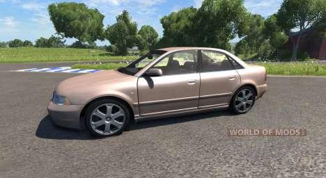 Audi S4 2000 [Pantone 7513 C] for BeamNG Drive