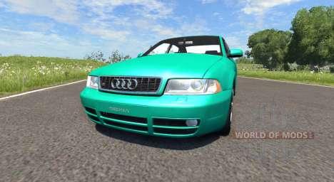 Audi S4 2000 [Pantone Green C] for BeamNG Drive