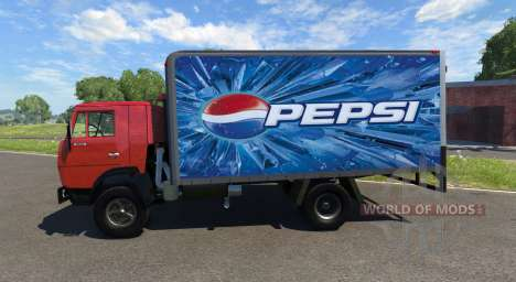 KamAZ-5325 Pepsi for BeamNG Drive