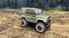 УАЗ-469 Monster Truck v3 for Spin Tires