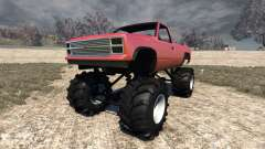 Gavril D-Series Monster Truck v2 for BeamNG Drive