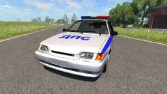 VAZ-2115 Police for BeamNG Drive