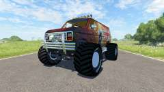 Ford E-250 Monster for BeamNG Drive