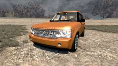 Range Rover Supercharged 2008 [Orange] for BeamNG Drive