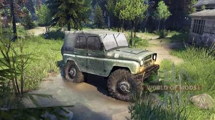 УАЗ-469 Monster Truck for Spin Tires