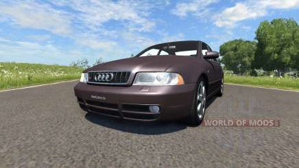 Audi S4 2000 [Pantone Black 5 C] for BeamNG Drive