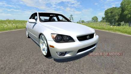 Lexus IS300 for BeamNG Drive