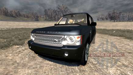 Range Rover Supercharged 2008 [Black] for BeamNG Drive