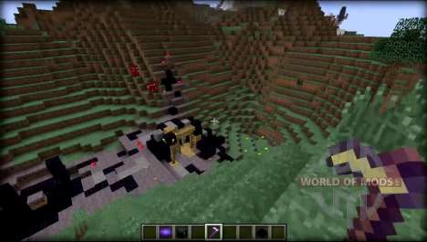 Cave world for Minecraft