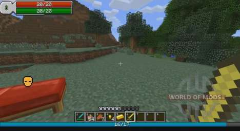 RPG interface for Minecraft