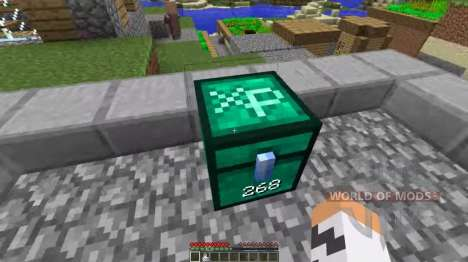 Chest of experience for Minecraft