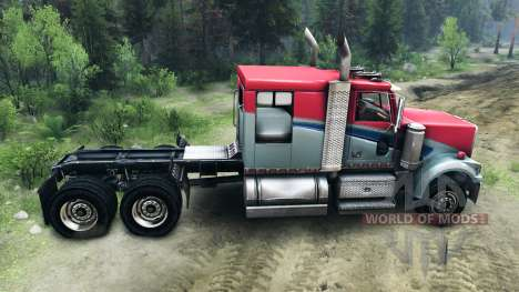 Western Star 4900 LowMax for Spin Tires