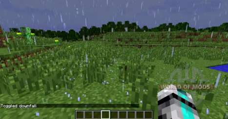 Superior rain for Minecraft