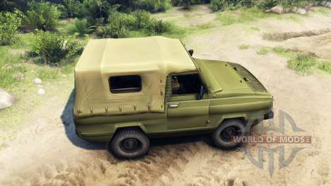 UAZ-3907 for Spin Tires