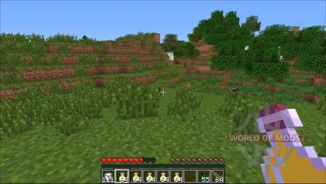 A random effect for Minecraft